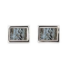 Sarfari Pattern Rectangular Cufflinks