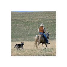 "Ranch Hand Square Sticker 3"" x 3"""