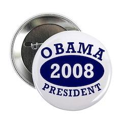 Obama 2008 President Button