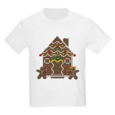 Cute Gingerbread House Christmas T-Shirt