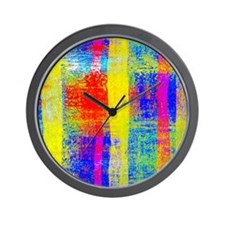 Cute Stripes Wall Clock