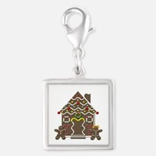 Cute Gingerbread House Christmas Charms