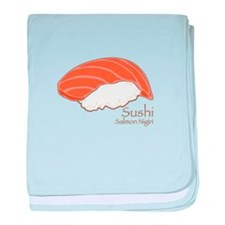 Salmon Nilgiri baby blanket