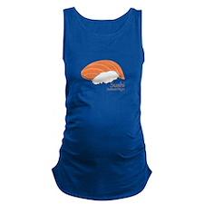 Salmon Nilgiri Maternity Tank Top