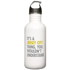 Its A Jersey City Thin Water Bottle
