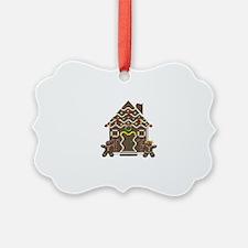 Cute Christmas gingerbread man Ornament