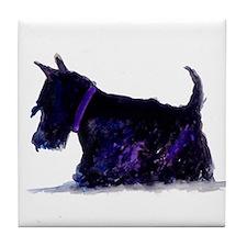 Funny Terrier Tile Coaster