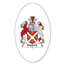 Hopkirk Oval Decal
