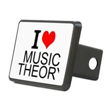 I Love Music Theory Hitch Cover