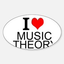 I Love Music Theory Decal