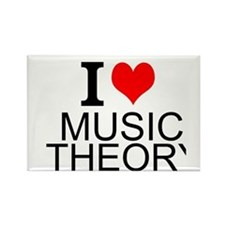 I Love Music Theory Magnets