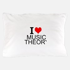 I Love Music Theory Pillow Case
