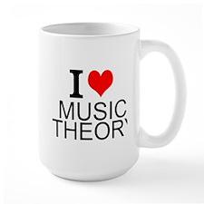 I Love Music Theory Mugs