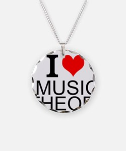 I Love Music Theory Necklace