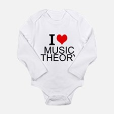 I Love Music Theory Body Suit