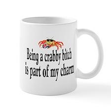 """""""Crabby Bitch"""" Mug Mugs"""