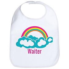 Rainbow Cloud Waiter Bib