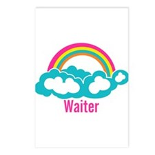 Rainbow Cloud Waiter Postcards (Package of 8)