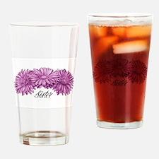 Unique Flower grandma Drinking Glass