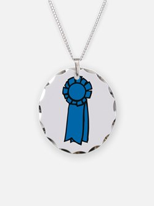 Ribbon Award Necklace