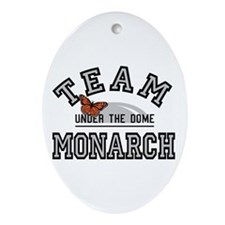 Team Monarch UtD Ornament (Oval)