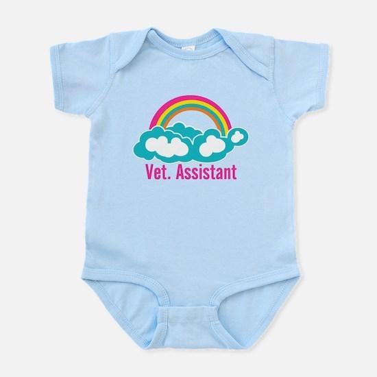 Rainbow Veterinary Assistant Infant Bodysuit