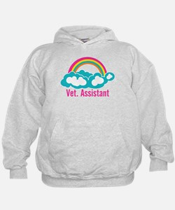 Rainbow Veterinary Assistant Hoodie