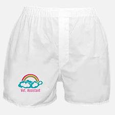 Rainbow Veterinary Assistant Boxer Shorts