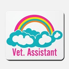 Rainbow Veterinary Assistant Mousepad