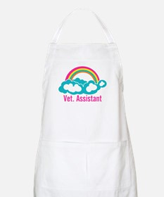 Rainbow Veterinary Assistant Apron