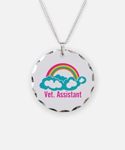 Rainbow Veterinary Assistant Necklace
