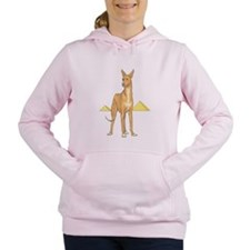 Pharaoh-Hound.png Women's Hooded Sweatshirt