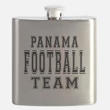 Panama Football Team Flask