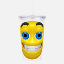 y-cheesey.png Acrylic Double-wall Tumbler