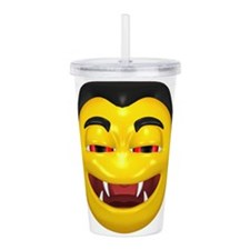 y-sneaky-vamp.png Acrylic Double-wall Tumbler