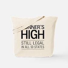 Runners high still legal Tote Bag