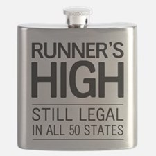 Runners high still legal Flask