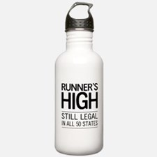 Runners high still legal Water Bottle