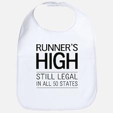 Runners high still legal Bib
