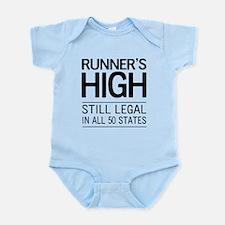 Runners high still legal Body Suit