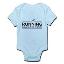 Running cheaper than therapy Body Suit