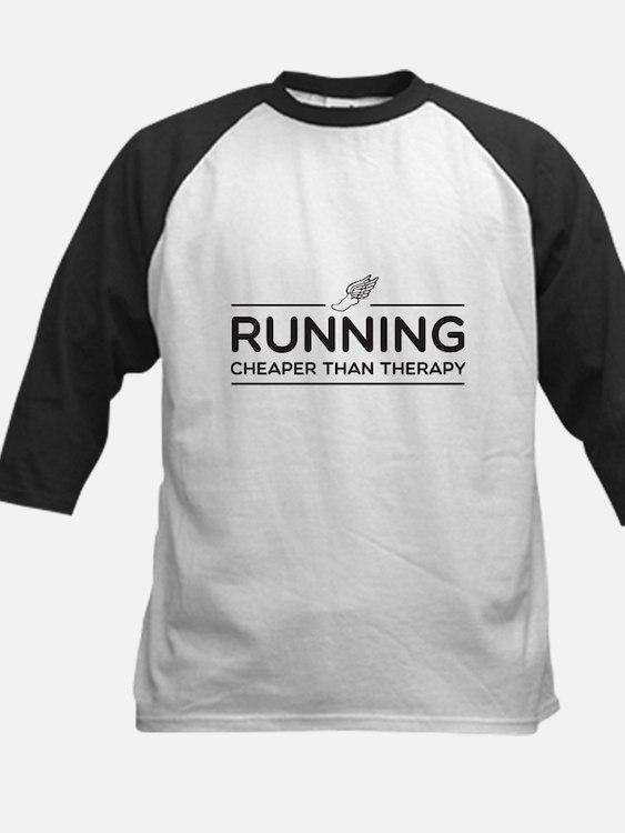 Running cheaper than therapy Baseball Jersey