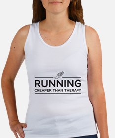 Running cheaper than therapy Tank Top