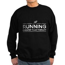 Running cheaper than therapy Jumper Sweater
