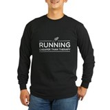 Run Long Sleeve T-shirts (Dark)