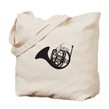 Jazz French Horn Tote Bag