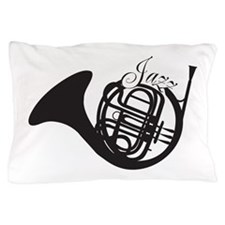 Jazz French Horn Pillow Case