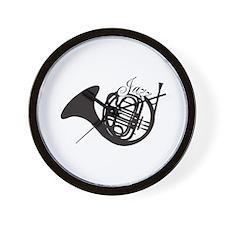 Jazz French Horn Wall Clock