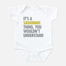 Its A Savannah Thing Infant Bodysuit