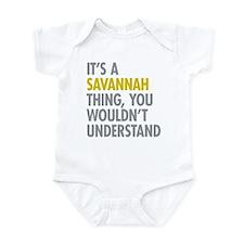 Its A Savannah Thing Onesie